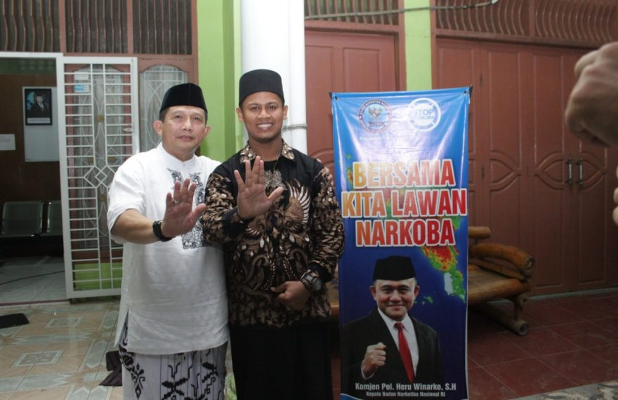 Ajak ustad Ceramah Narkoba, BNN Aceh Gelar Safari Ramadhan/fajarbadung.com