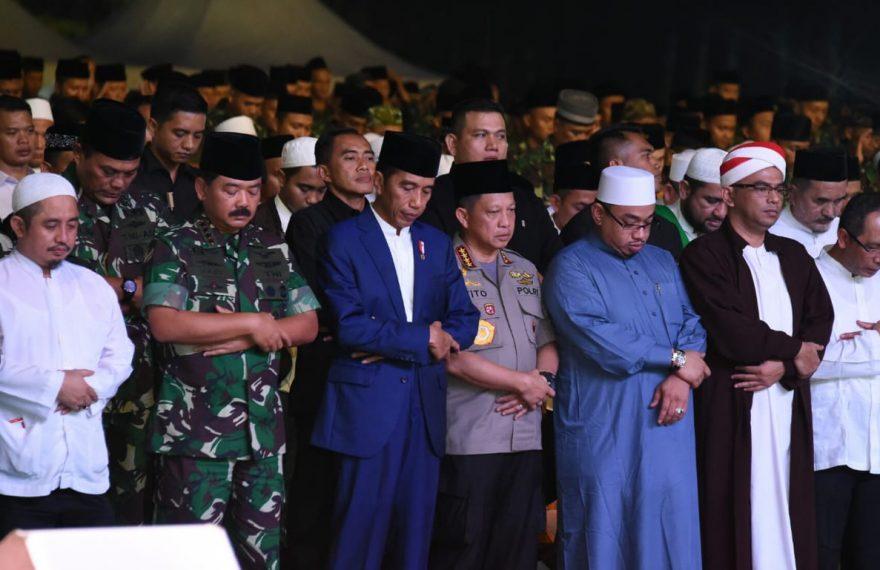 Panglima TNI Berbuka Puasa Bersama Prajurit TNI-Polri di Monas/fajarbadung.com