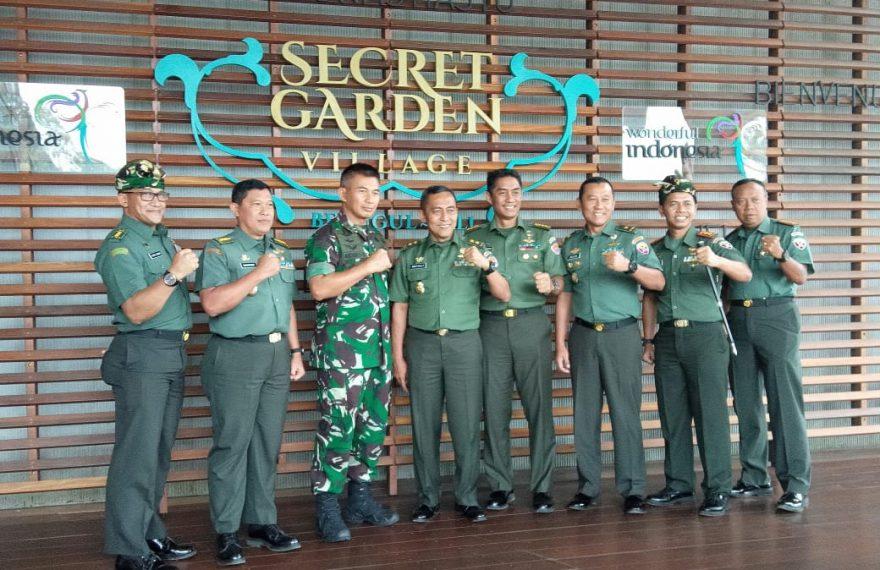 Aster Kasad Kunjungi Kegiatan Binter Terpadu Di Wilayah Kodim Tabanan/fajarbadung.com