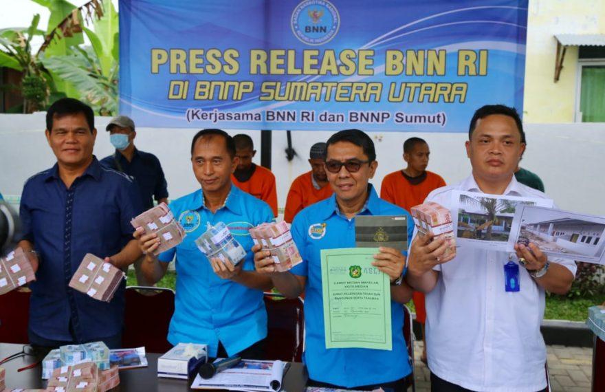 BNN Ungkap Aset Senilai Milyar Dari TPPU Kasus 74 Kilogram Sabu/fajarbadung.com