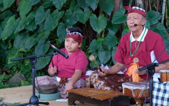 Hari ke-2 Festival Tepi Sawah, Mengajarkan Anak Peduli Lingkungan/fajarbadung.com