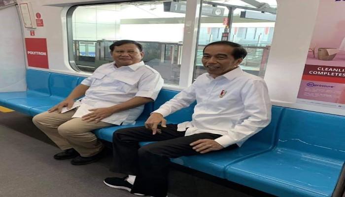 Akhirnya Jokowi dan Prabowo Bertemu/fajarbadung.com