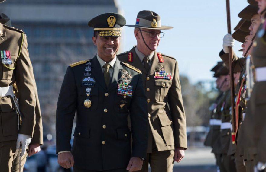 Kunjungan Kasad di Australia, Pererat Kerja Sama Kedua Angkatan Darat/fajarbadung.com