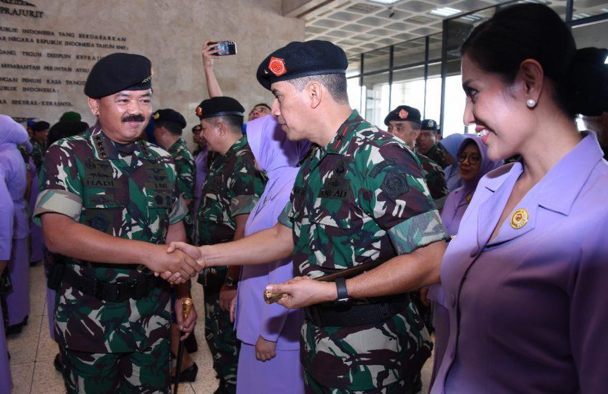 57 Pati TNI Naik Pangkat/fajarbadung.com