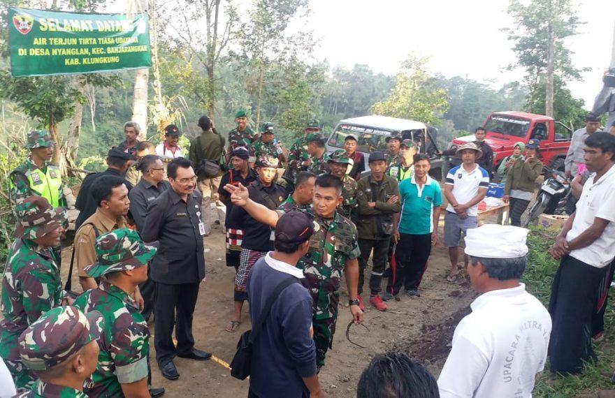 Pangdam IX/Udayana Apresiasi Semangat Gotong Royong TMMD Ke 105 Kodim 1610/Klungkung/fajarbadung.com