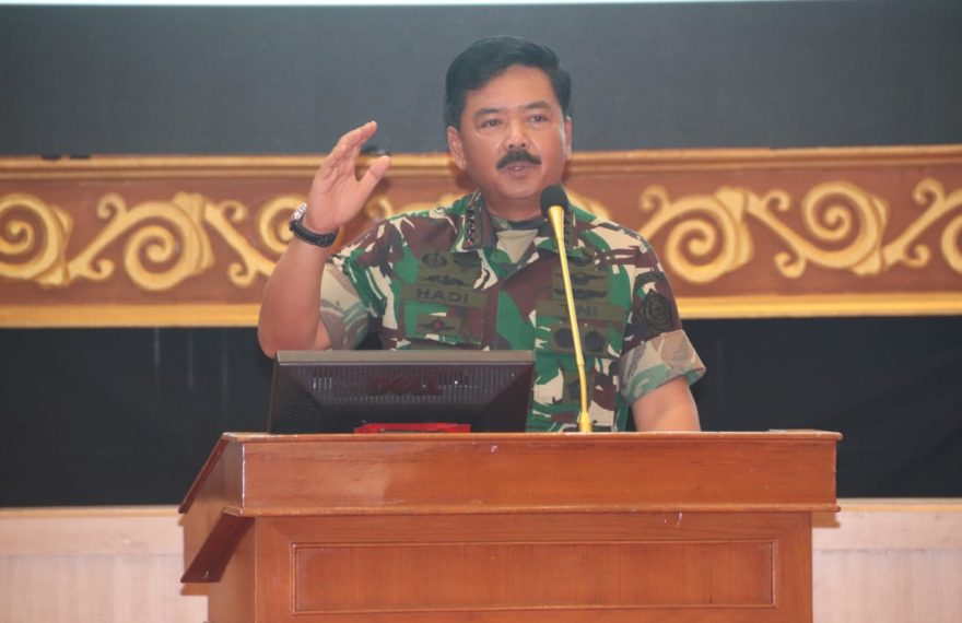 Panglima TNI Berikan Pembekalan Kepada Siswa Dan Siswi SMA Pradita Dirgantara/fajarbadung.com