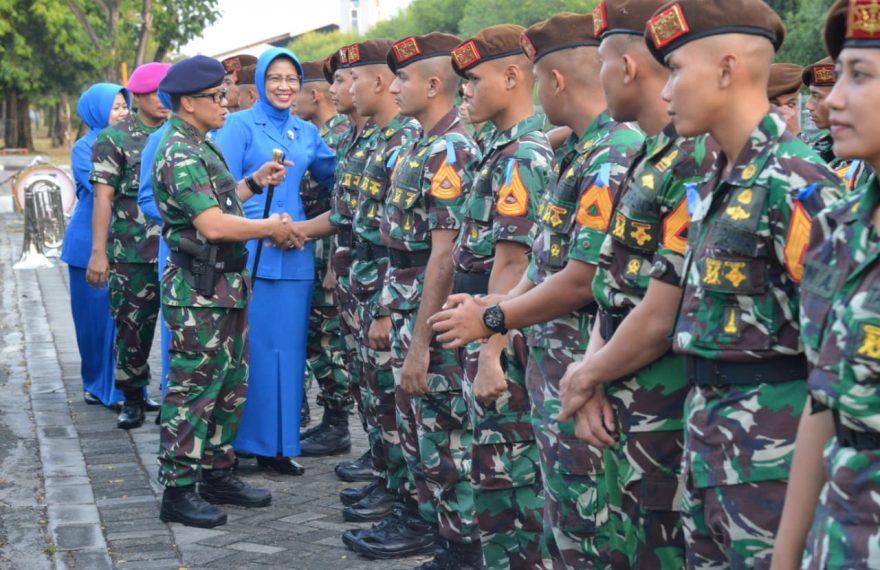 Pelepasan Taruna AAL Angkatan 64/fajarbadung.com