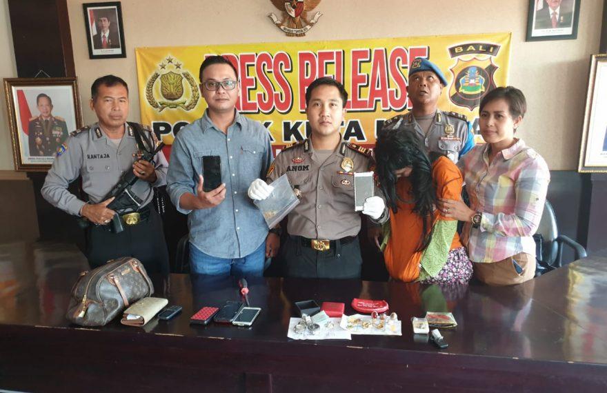 Polisi Buru Pencuri ke Makassar/fajarbadung.com