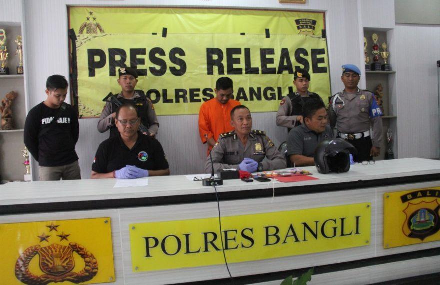 Menyimpan Barang Haram Sahbu Oknum PNS Pemkab Bangli Di Ciduk Satresnarkoba Polres Bangli/fajarbadung.com