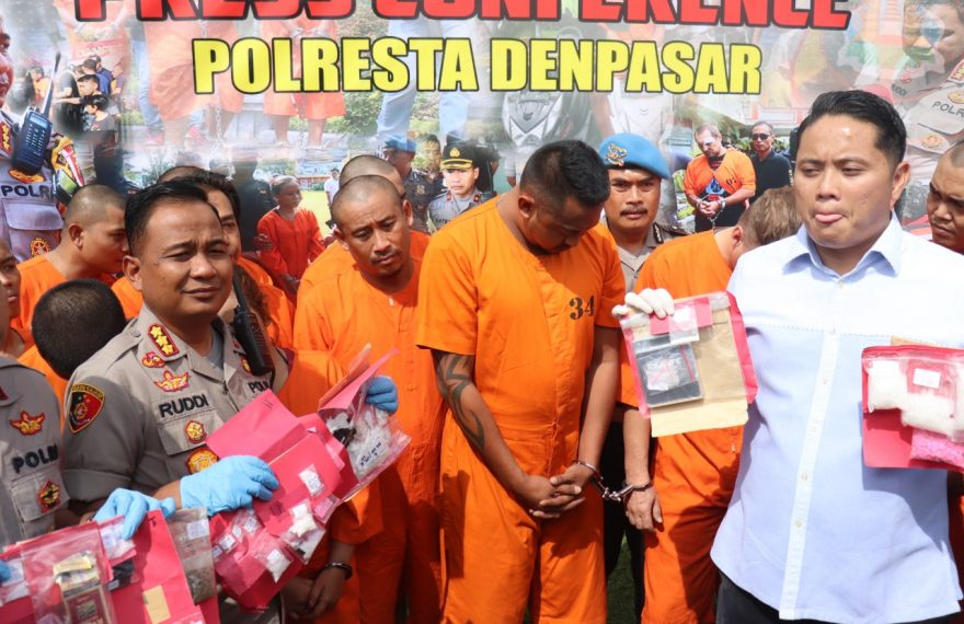 Dalam Dua Pekan Sat Narkoba Polresta Denpasar Amankan 29 Tersangka/fajarbadung.com