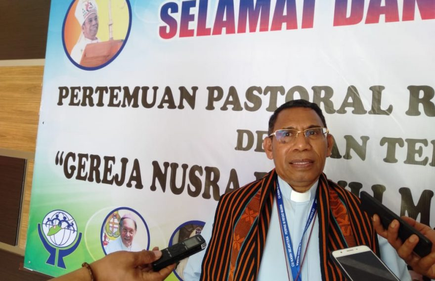 7 Uskup Ikut Pertemuan Pastoral Regional Nusra Ke XI Di Perbatasan RI-RDTL/fajarbadung.com