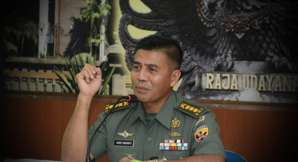 Kodam IX/Udayana Terima Pendaftaran Caba PK TNI AD TA. 2019/theeast.co.id