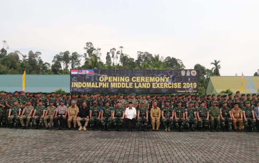 Latma Indomalphi 2019 Untuk Wujudkan Stabilitas Keamanan Di Perbatasan 3 Negara/fajarbadung.com