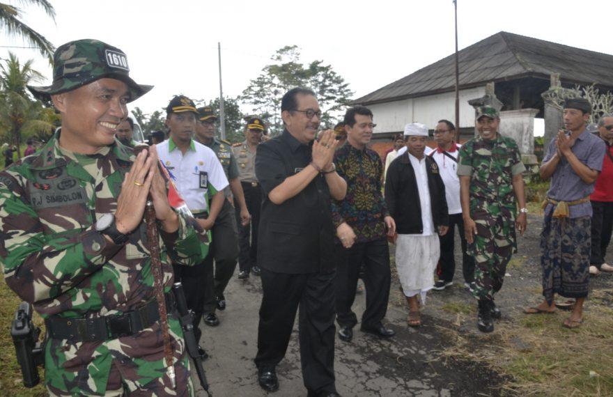 Wagub Bali: TMMD Sebagai Titik Bangkit Dan Motivasi Memberdayakan Masyarakat/fajarbadung.com