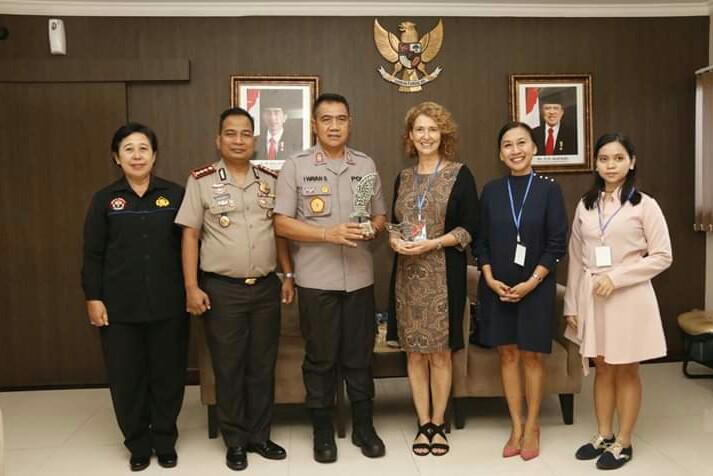 Menjelang Bali International Film Festival ke-13, Wakapolda Bali Terima Audiensi Balinale/fajarbadung.com