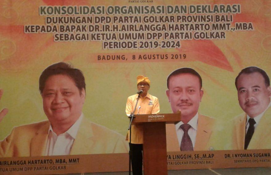 Dukungan Airlangga Hartarto Terus Menguat Jadi Ketum/fajarbadung.com