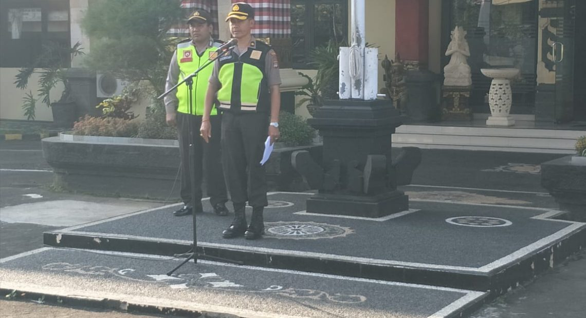 Kabag Ops Polres Badung Pimpin Apel Kesiapan Malam Takbiran Dan Sholat Idul Adha/fajarbadung.com