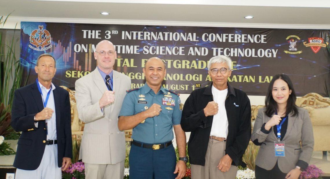 Komandan STTAL Membuka Seminar The 3rd International Conference Maritim Science And Tehcnologi ICMST 2019/fajarbadung.com