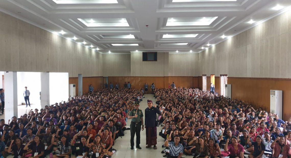 Dandim Buleleng Bentuk Jiwa Patriotisme Mahasiswa Undiksha Singaraja/fajarbadung.com