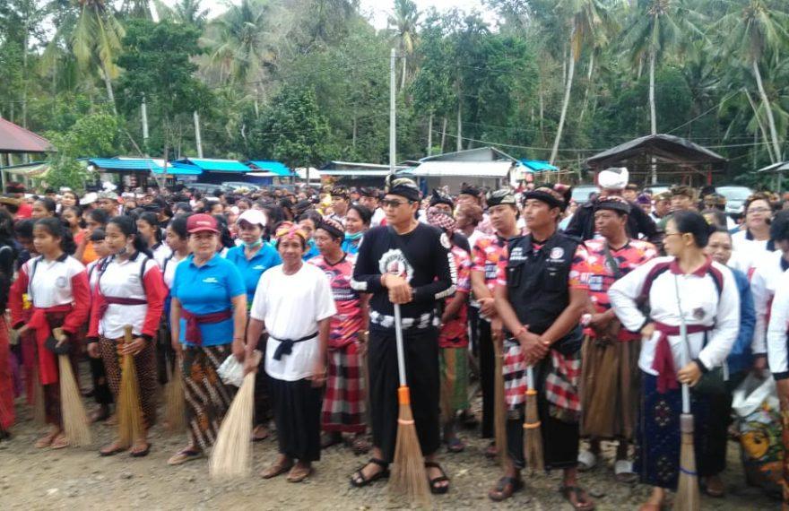Kodim Klungkung Berpartisipasi Dan Dukung Gerakan Bali Resik Sampah Plastik/fajarbadung.com,