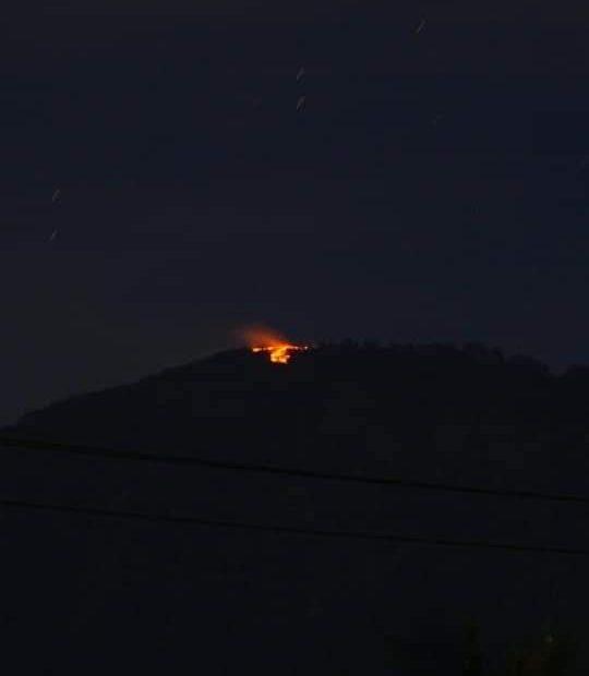 Sempat Terbakar Hebat, Api Di Gunung Batukaru Tabanan Berhasil Dipadamkan/fajarbadung.com