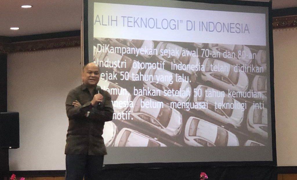Ilham Habibie: Indonesia Harus Kuasai Teknologi Kunci Agar Cepat Maju/fajarbadung.com
