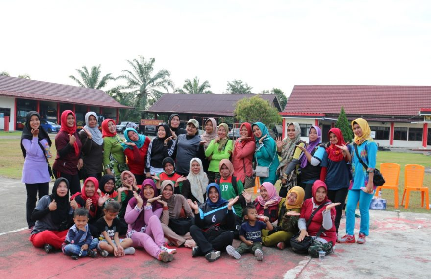 Jalin Solidaritas, Persit Kodim 0406/Mura Dan Bhayangkari Gelar Olahraga Bersama/fajarbadung.com