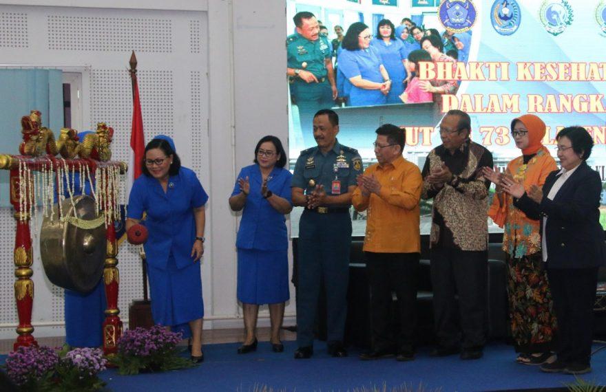 Jelang HUT Ke-73, Jalansenastri Gelar Bhakti Pengabdian Spesialis THT-KL Dan Seminar Kesehatan/fajarbadung.com
