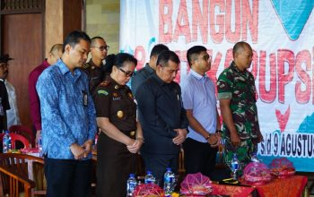 Kasat Reskrim Hadiri Acara Roadshow Bus KPK 2019 Jelajah Negeri Bangun Anti Korupsi/fajarbadung.com