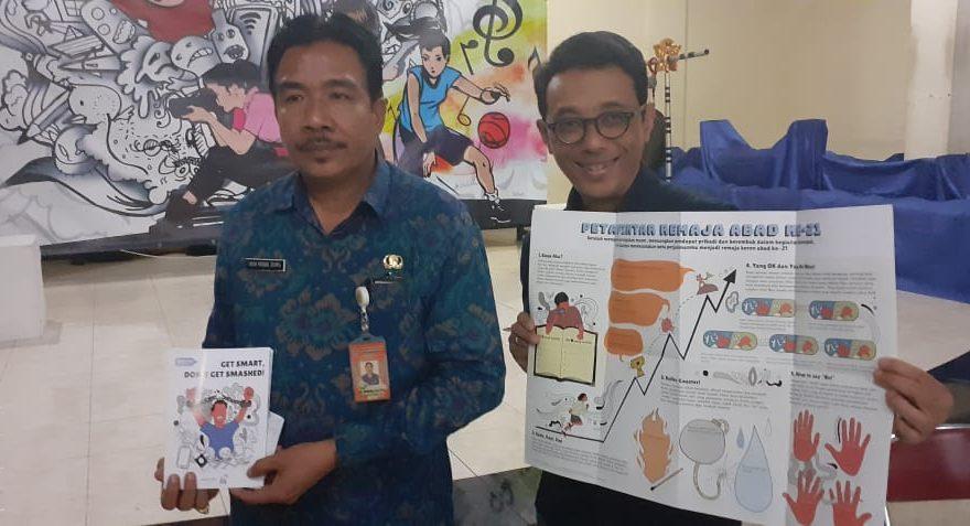 SMASHED Project Ajak Pelajar Di Bali Membangun Life Skills Hadapi Persoalan Remaja/fajarbadung.com