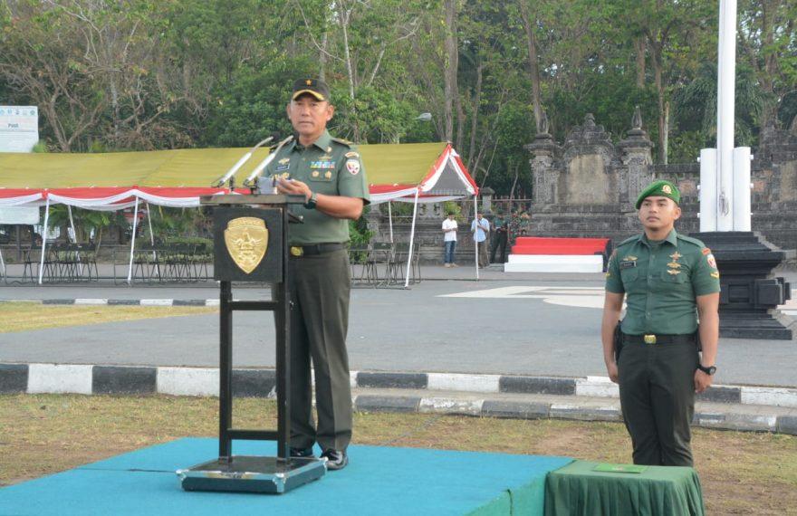 Kunker Presiden RI Dan Wakil Presiden RI Di Bali, Pangdam IX/Udayana Tekankan 4 Pedoman Pam VVIP/fajarbadung.com