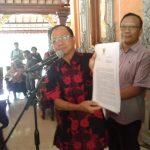 Koster Hentikan Reklamasi Pelabuhan Benoa Karena Merusak Lingkungan/fajarbadung.com