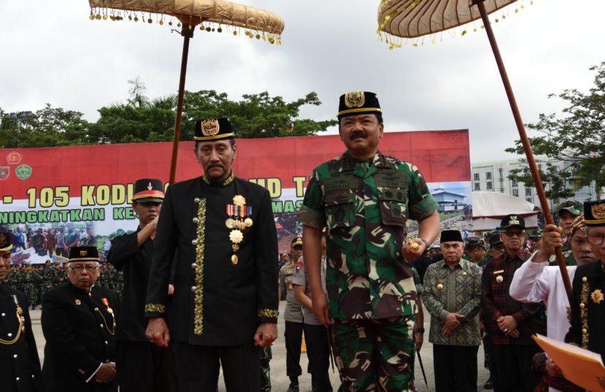 Kunjungan ke Kaltim, Panglima TNI Tutup TMMD Ke-105 di Samarinda/fajarbadung.com