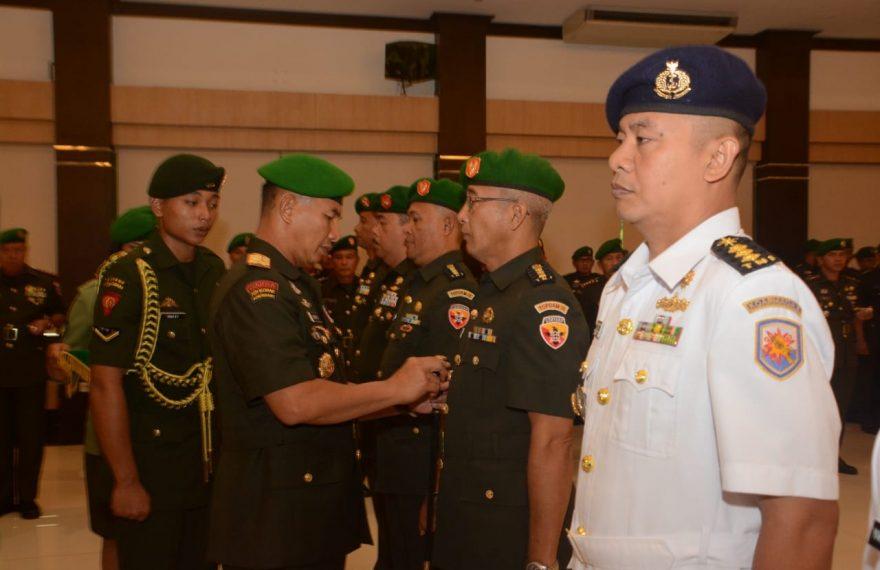 Pangdam IX/Udayana Pimpin Sertijab Pejabat Teras Kodam IX/Udayana/fajarbadung.com