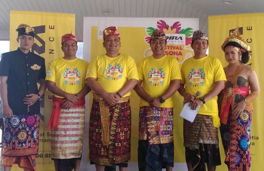 Adira Finance Ajak Masyarakat Bali Nikmati Sensasi Festival Pesona Lokal 2019/fajarbadung.com