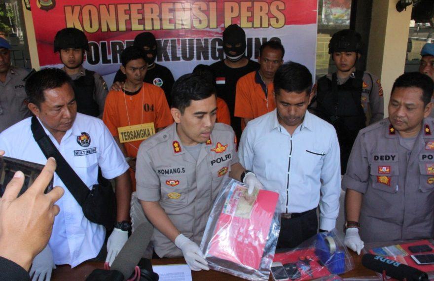 Polres Klungkung Tangkap Pelaku Penyalahgunaan Narkoba/fajarbadung.com