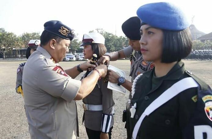 Polda Bali Melaksanakan Apel Gelar Pasukan Ops Patuh 2019/fajarbadung.com