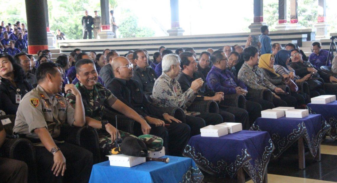 Roadshow Bus KPK Jelajah Negeri, Bangun Antikorupsi Di Klungkung/fajarbadung.com