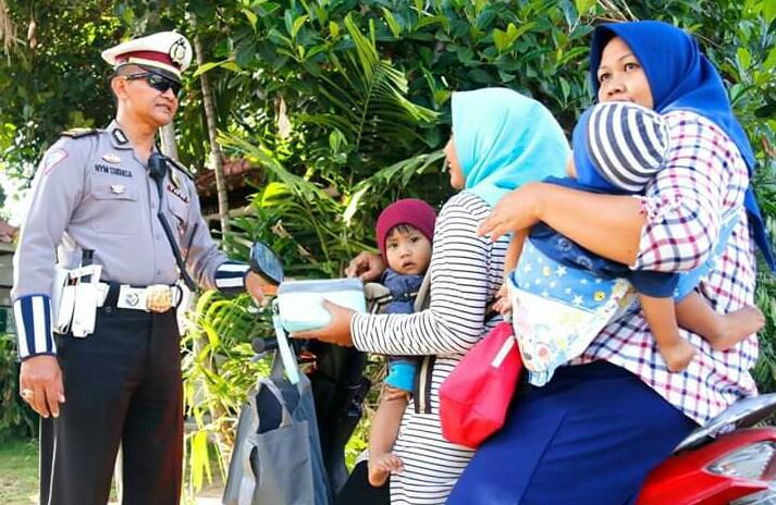 Ops Patuh Agung 2019, Polda Bali Tidak Pilih Kasih Menindak Pengendara tanpa Helm/fajarbadung.com