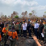 Panglima TNI Tinjau Langsung Karhutla Di Kalimantan Tengah Dan Kalimantan Barat/fajarbadung.com