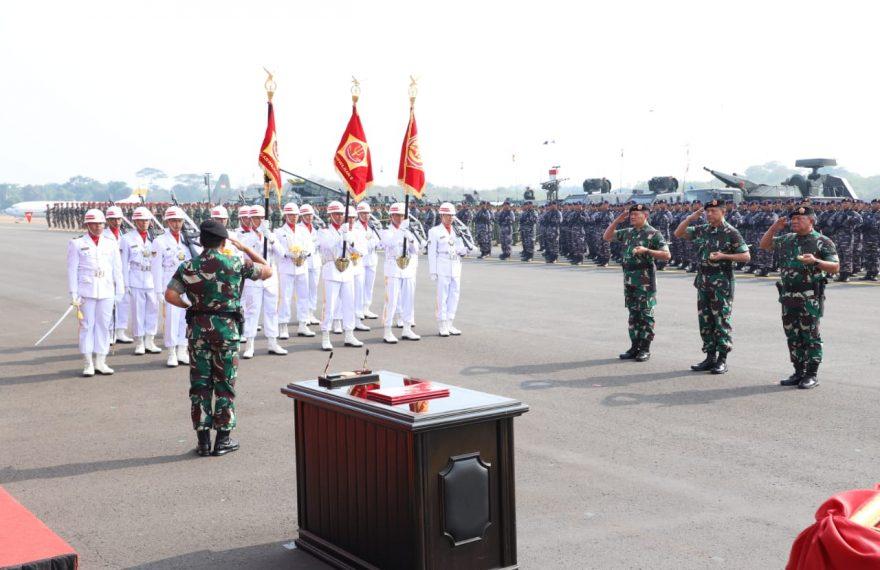 Panglima TNI Resmikan 3 Kogabwilhan/fajarbadung.com