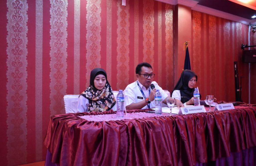 Kasubdit Linjamas BNN Berikan Materi Strategi Pemberdayaan Masyarakat Dalam P4GN Kepada Pengiat Anti Narkoba Kabupaten Bireun/fajarbadung.com