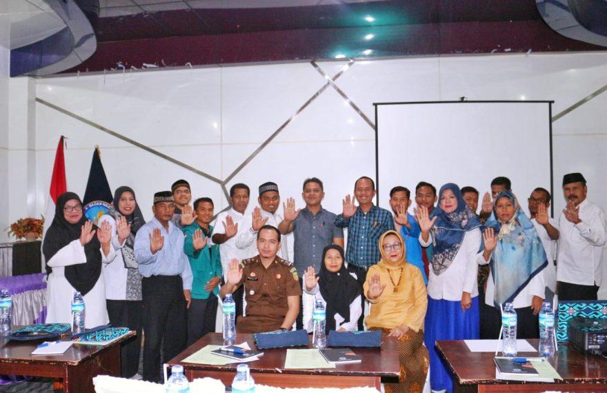 Deputi Dayamas BNN Beri Bimtek Penggiat Anti Narkoba Di Kabupaten Bireun/fajarbadung.com