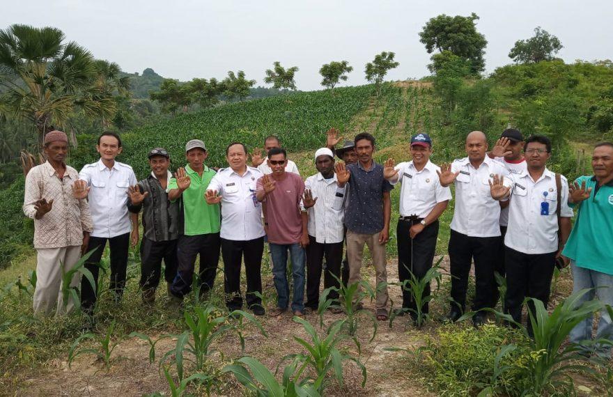 Direktur Pemberdayaan Alternatif BNN RI Kembali Kunjungi Lokasi Pilot Project Altenative Development di Kabupaten Bireun/fajarbadung.com