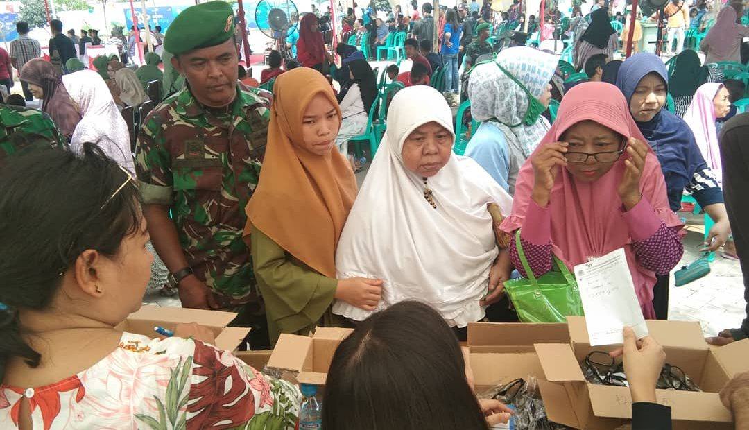 Ikuti Baksos, Masyarakat : Terima Kasih Bapak TNI/fajarbadung.com