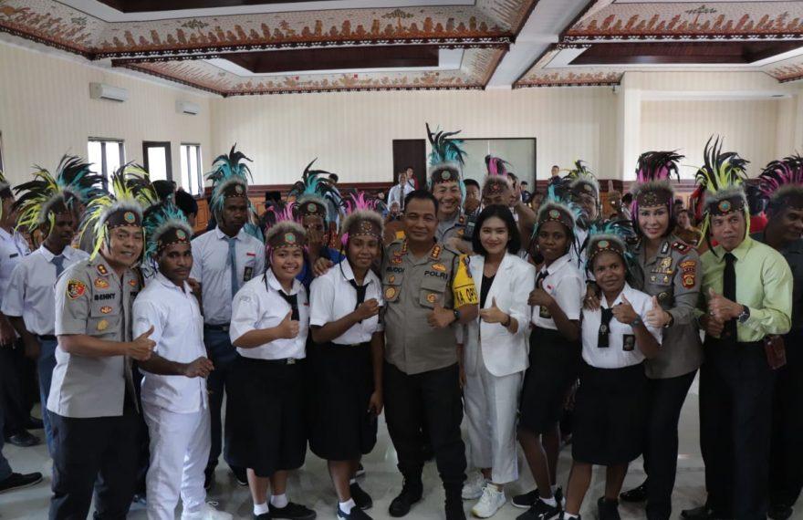 Dari Polresta Denpasar Merajut Cinta Untuk Negeri Dalam Bingkai Bhineka Tunggal Ika/fajarbadung.com