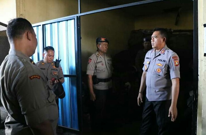 Wakapolda Bali Cek Gudang Senjata Api Dan Amunisi Di Mako Brimob/fajarbadung.com