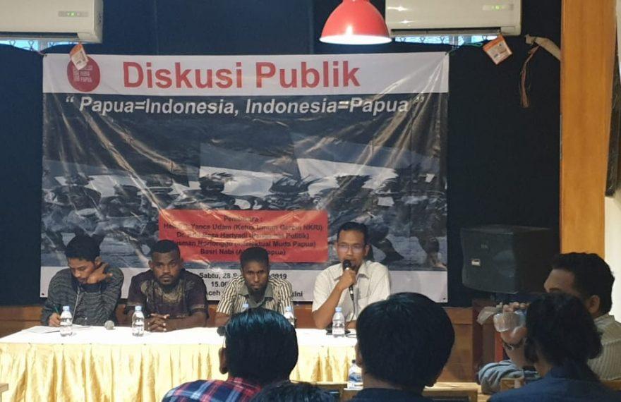 "Pemuda Papua Jakarta Gelar Diskusi ""Papua=Indonesia, Indonesia=Papua""/fajarbadung.com"