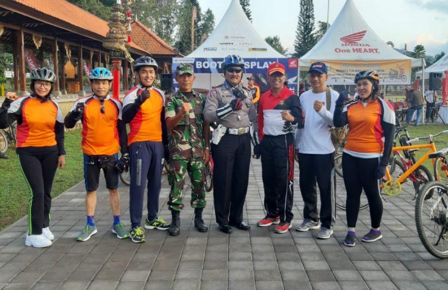 Perkuat Soliditas Antar Instansi dan Elemen Masyarakat dengan Fun Bike/fajarbadung.com