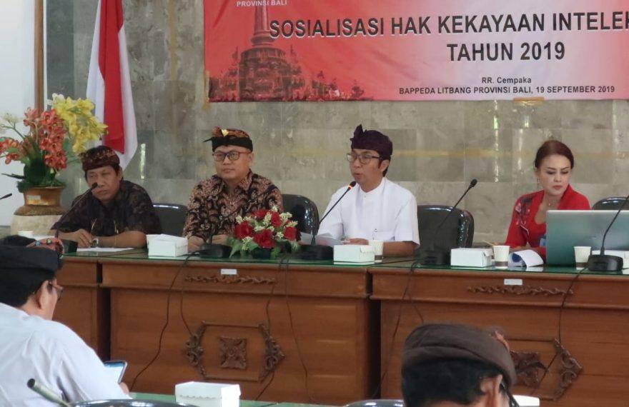 Pemprov Bali Berkomitmen Lindungi Kekayaan Intelektual Warganya/fajarbadung.com